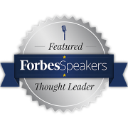 Jack Whatley Forbes Thought Speaker Badge